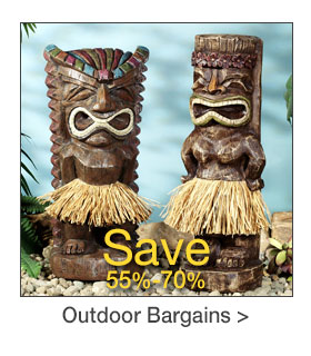 Outdoor Decor Bargains - Save 55%-70%