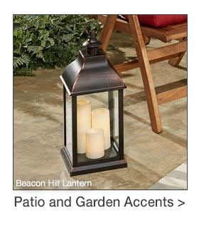 Patio and Garden Accents