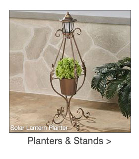 Outdoor Planters and Stands