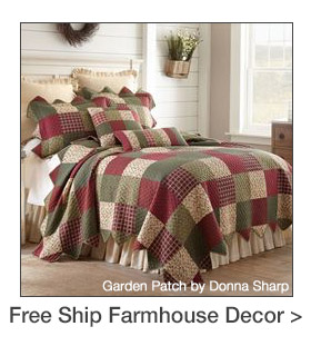 Free Shipping on select Farmhouse-themed Accents