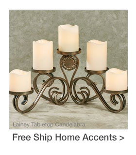 Free Shipping on select Home Accents