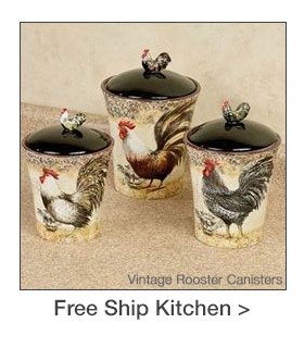 Free Shipping on select Kitchen Accents