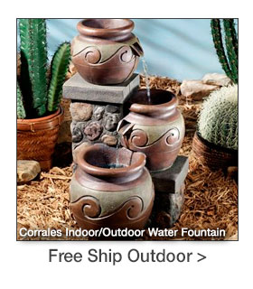 Free Shipping on select Outdoor Accents