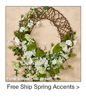 Free Shipping on select Spring-themed Accents