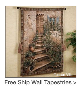 Free Shipping on select Wall Tapestries