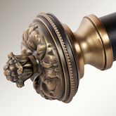 Finial on a Curtain Rod