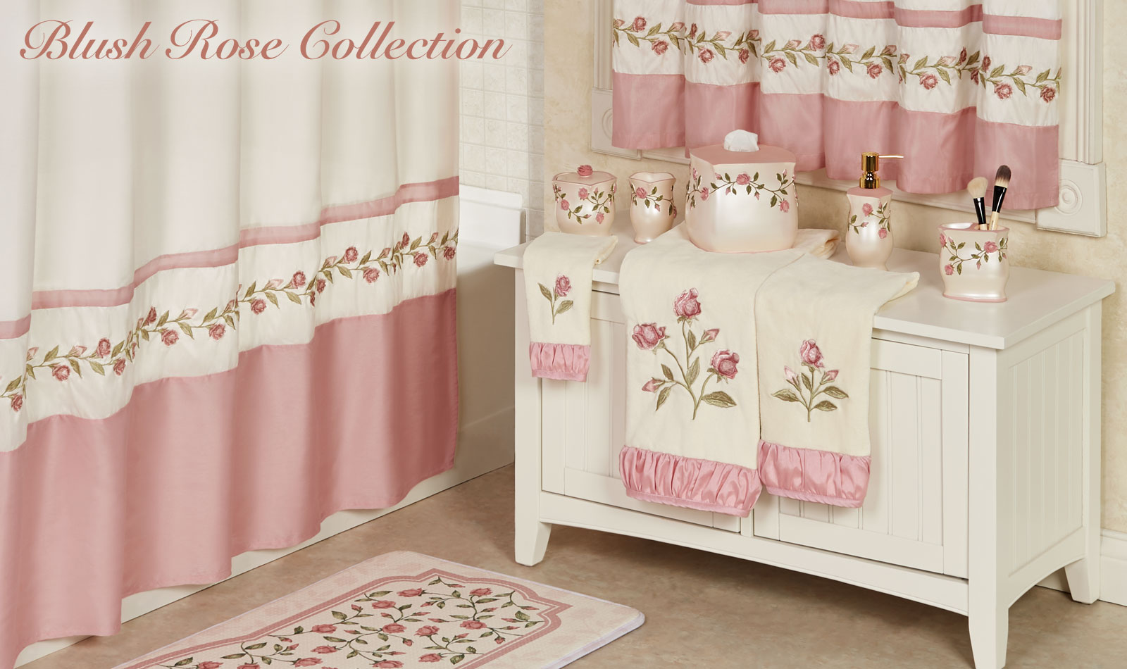Blush Rose Bath Collection