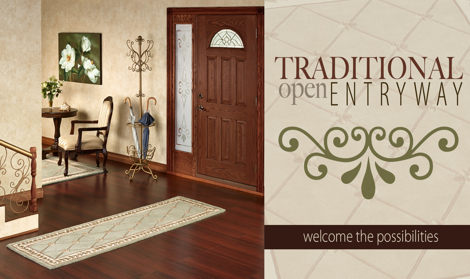 Tradtional Entryway