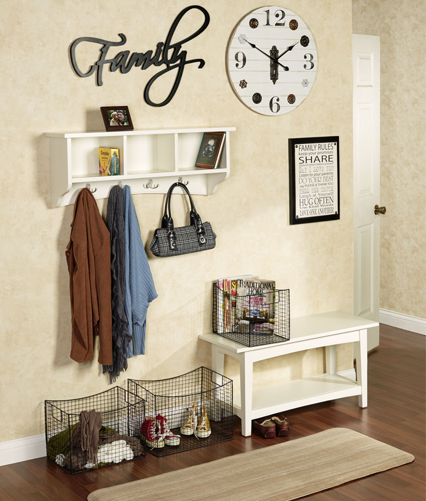 Foyer Organization Ideas : Decorative ideas for entryway organization touch of class