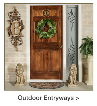 Outdoor Entryway for Spring