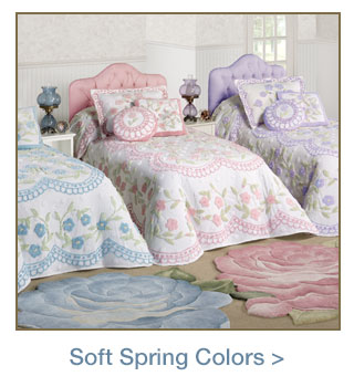 Soft Colored Decor for Spring