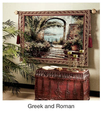 Greek and Roman Home Decorating