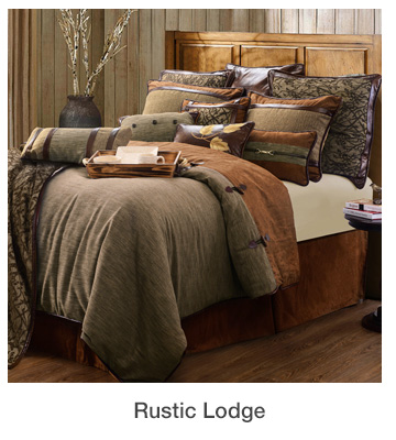 Rustic Lodge Home Decorating