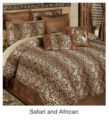 Safari and African Home Decorating