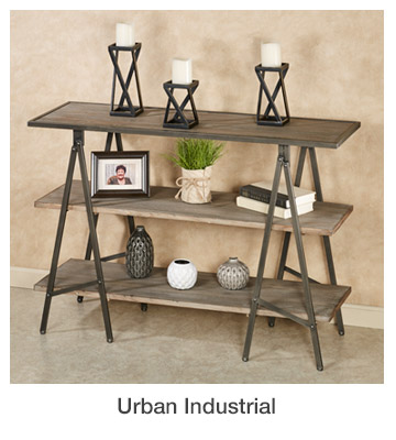 Urban Industrial Home Decor