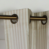 Grommets on a Curtain Panel