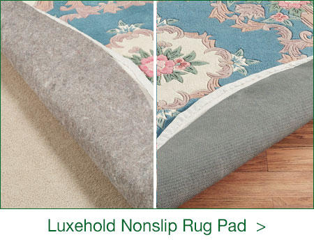 Luxehold Rug Pad for carpeted and hard floor surfaces
