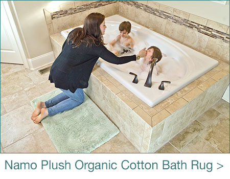 Namo Organic Cotton Bath Rug