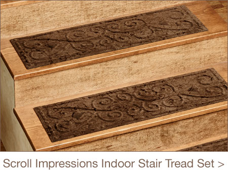 Scroll Impressions Indoor Stair Tread Set