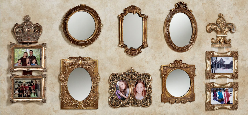 Mirror and Photo Collage