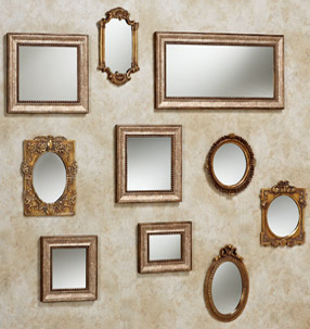 Vertical Collage - Wall Mirrors