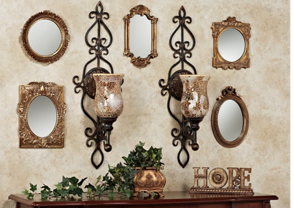 Wall Sconces with Mirrors