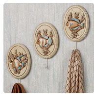 Underwater Delight Fish Wall Hook Set