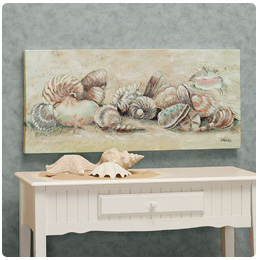 Seashell Medley Canvas
