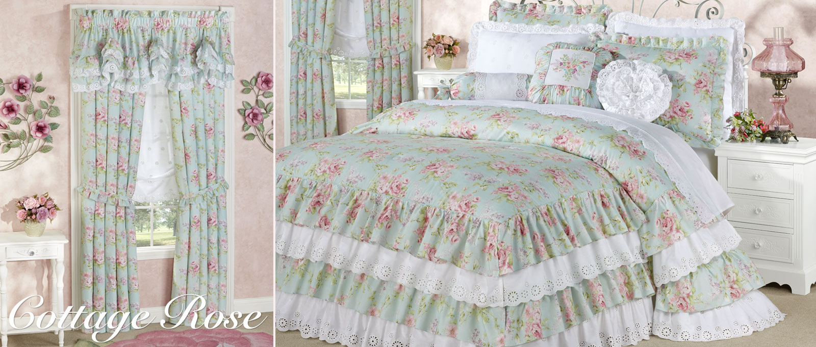 Our Exclusive Cottage Rose Bedding