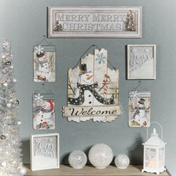 Get The Look - Frosty Friends Winter Wall Collage