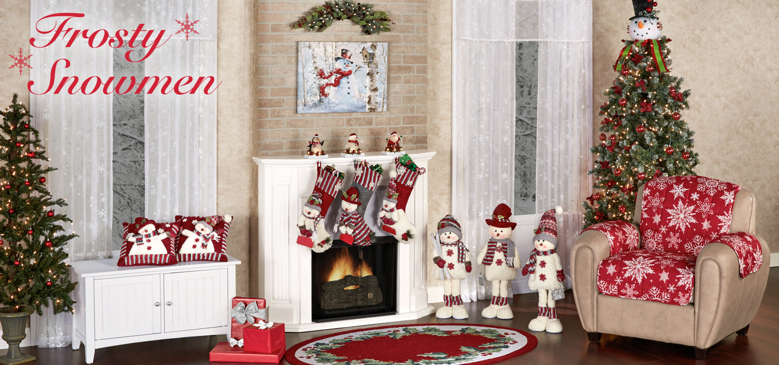 Frosty Snowmen Holiday Collection