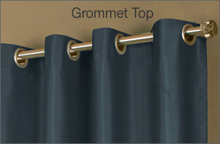 Grommet Top Curtain Panel