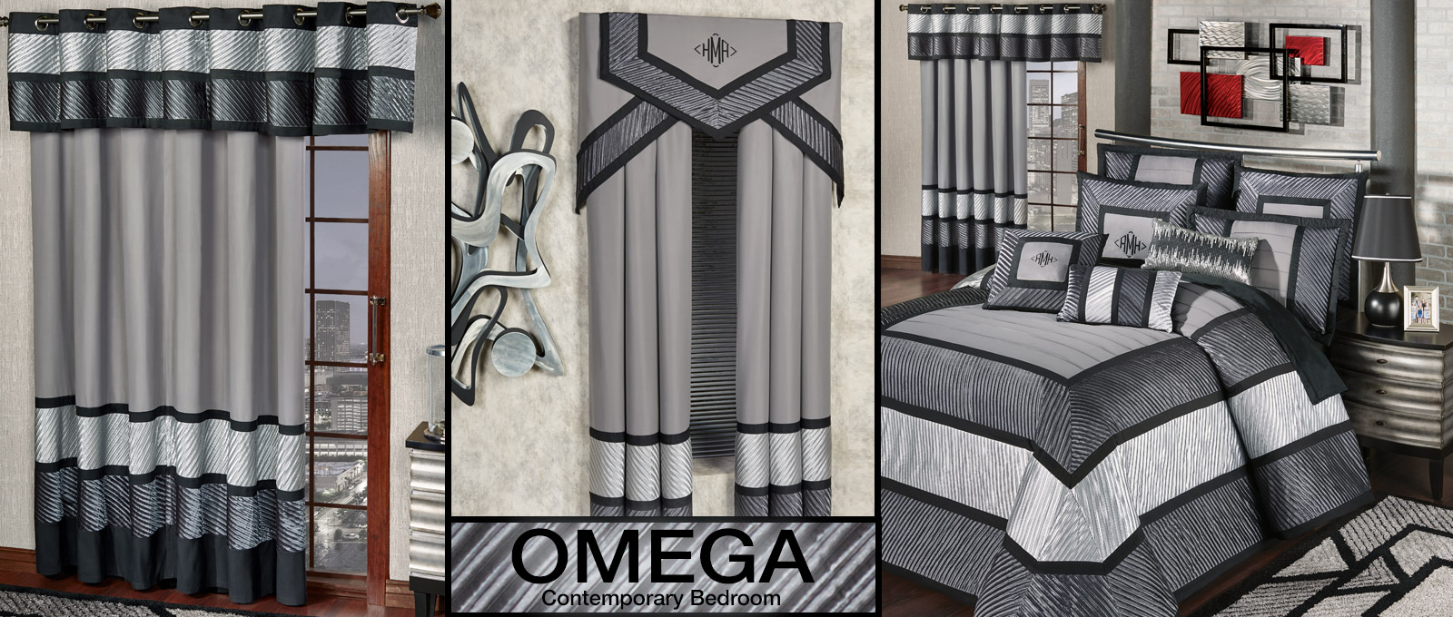 Get The Look - Omega Contemporary Bedroom