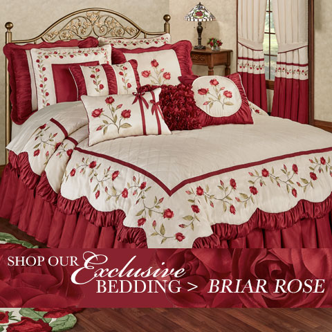 Our Exclusive Briar Rose Bedding