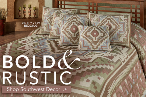 Shop our extensive collection of Southwest Decor - Valley View Bedding