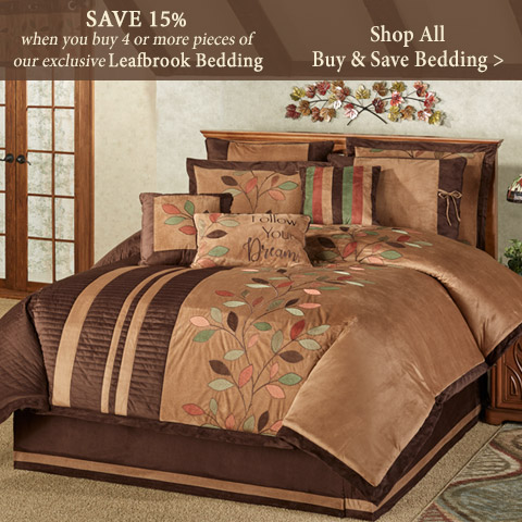 Buy More and Save on select bedding ensembles including Christmas bedding!