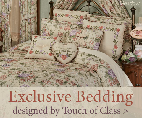 Shop our Exclusively Designed Fashion Bedding - Meadow