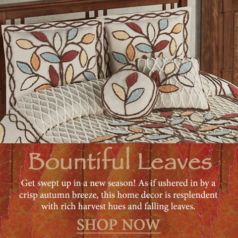 Get swept up in a new season - shop Autumn-themed decor >