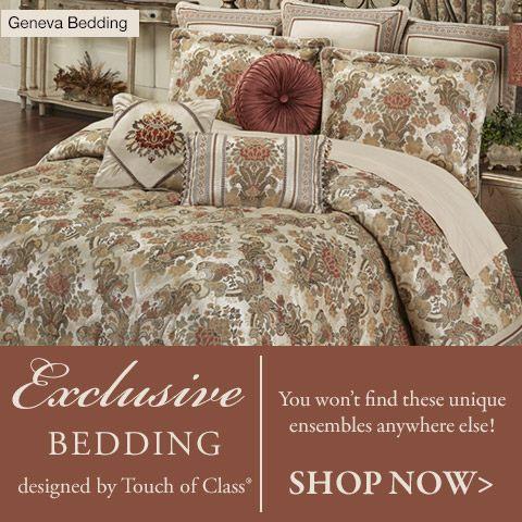 Shop our exclusively designed bedding - Geneva Bedspread Bedding >