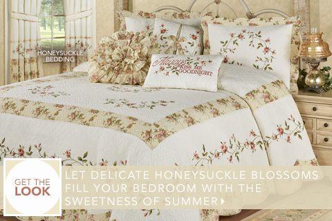 Get The Look - Our Exclusive Honeysuckle Bedding