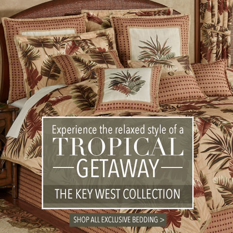 Our Exclusive Key West Tropical Bedding