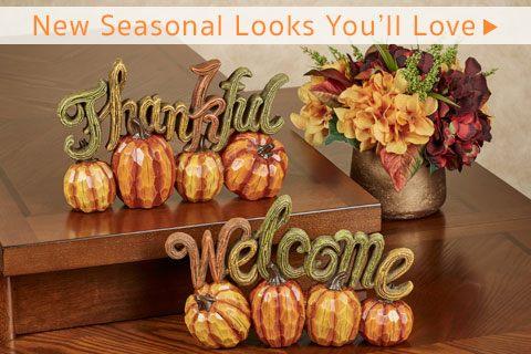 New Fall Seasonal Looks You'll Love