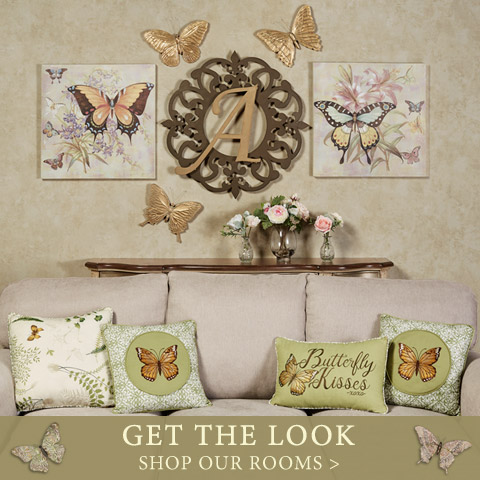 Shop Our Rooms and Get The Look: Butterfly Wall Collage