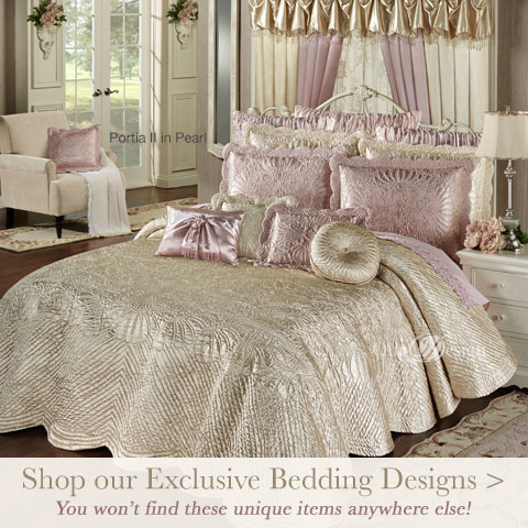 Shop our exclusive Bedding Collection incuding Portia II