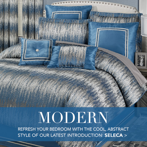 Shop our exclusively designed bedding - Seleca