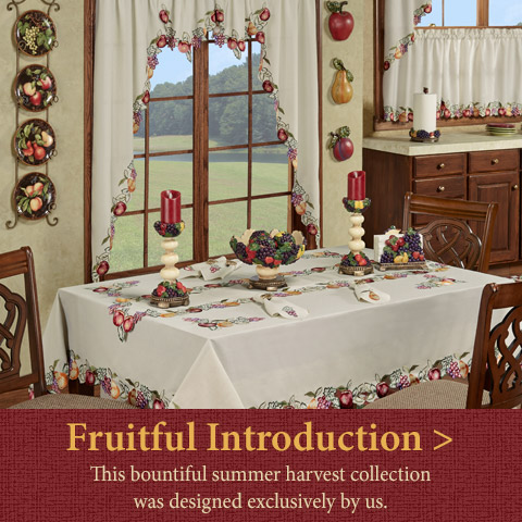 Shop our bountiful Fruitful Summer Kitchen Collection