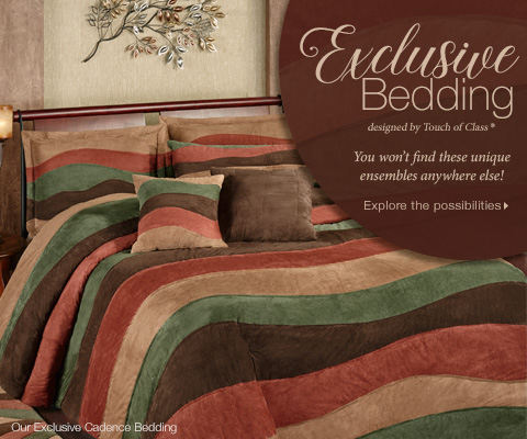 Explore Exclusive Bedding designed by Touch of Class >