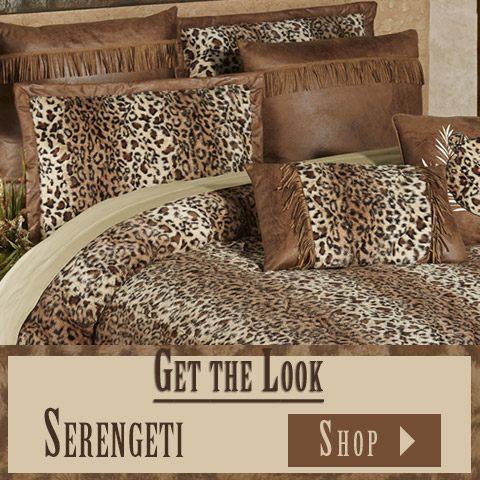 Get The Look - Serengeti Safari Bedroom