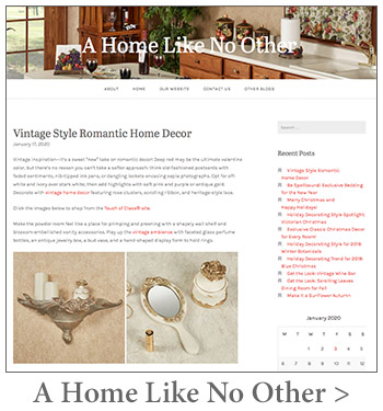 A Home Like No Other Blog