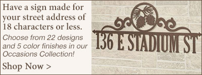 Occasions Custom Wording Sign